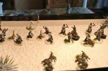 Panzergrenadiere im Schneehemd