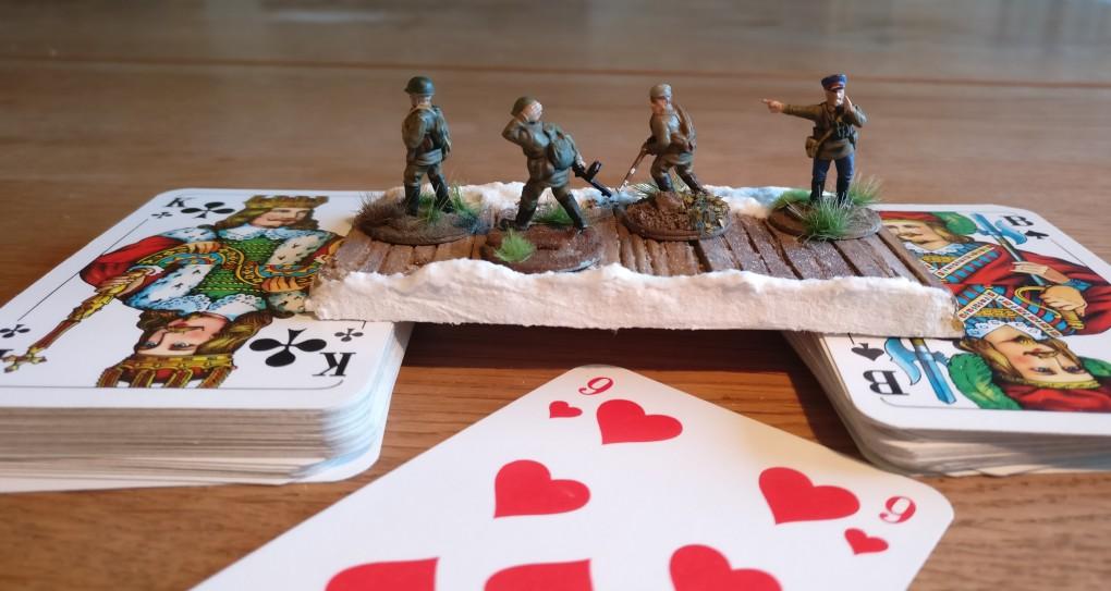 Das Table-Top-Game von Paper-Tiger-Armaments kommt bereits mit einem einfachen und einfach guten Regelwerk daher. Michael NEWOOD hat dem nun noch eine Krone aufgesetzt.