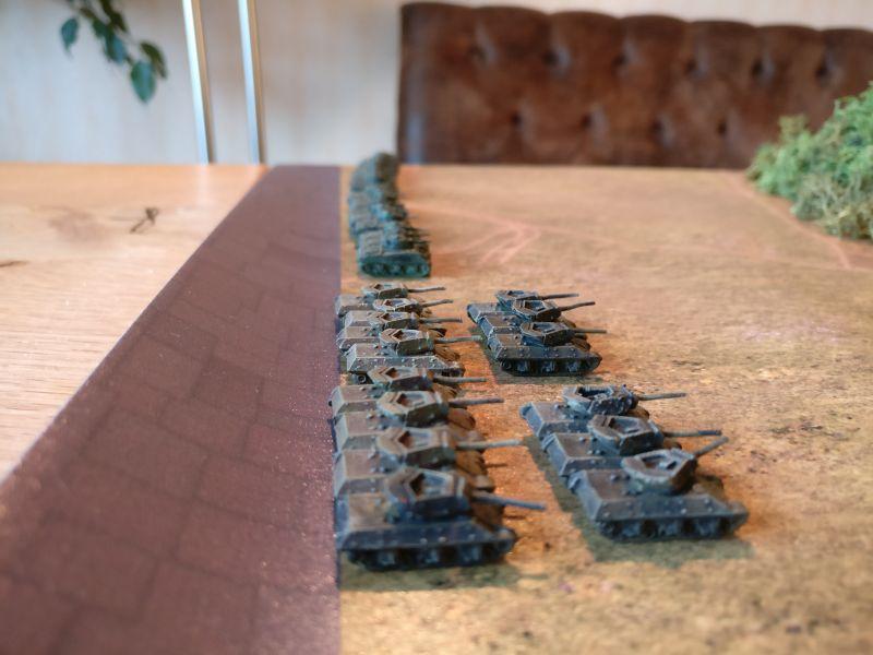 Das 705th Tank-Destroyer-Battalion mit M10 Wolverine / M36 Jackson