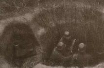 Nest für schweren Granatwerfer nach HDv 130/11 (1940)