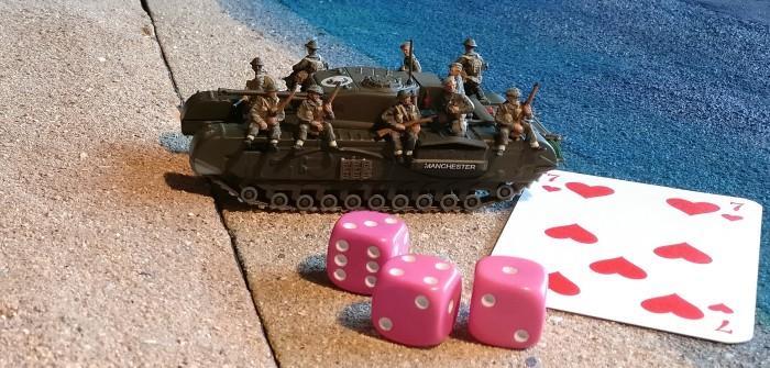 Paper Tigers Hausregel #3: Infanterie auf Fahrzeugen