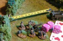 Paper Tigers Hausregel #4: Geschütze fahren, abprotzen und schießen, aufprotzen und abfahren