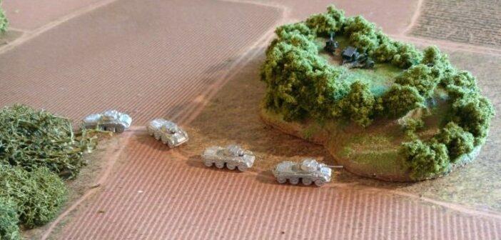 Schlacht um Bastogne: Battle Report #1 // 1. bis 4. Zug