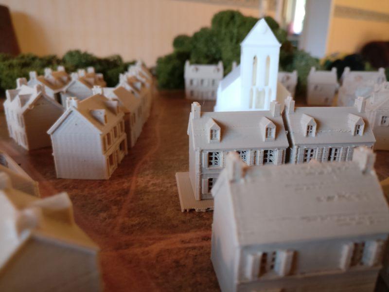 Der alte Ortskern von Taverneux, rund um die Kirche.
