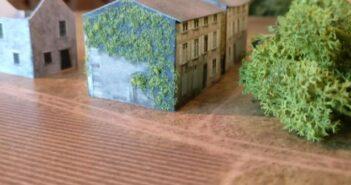Schlacht um Bastogne: Spielplatte im Maßstab 1:285