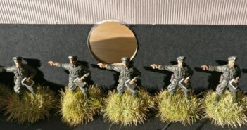 Verstärkung für das Grenadier-Regiment 57