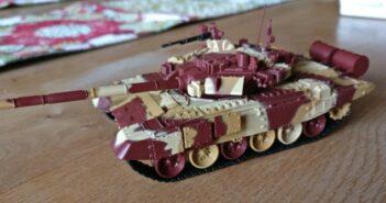 Zvezda 1/72 T-90 Russian Main Battle Tank # 2500