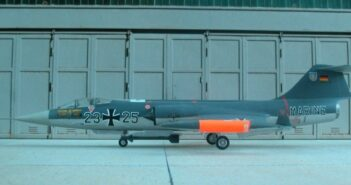 """Fliegen wo die Flotte fährt: die F-104G """"Starfighter"""" der Bundesmarine"""