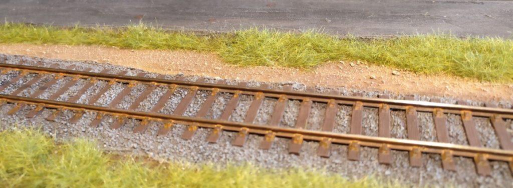 Ein Stück Weg neben dem Gleis...