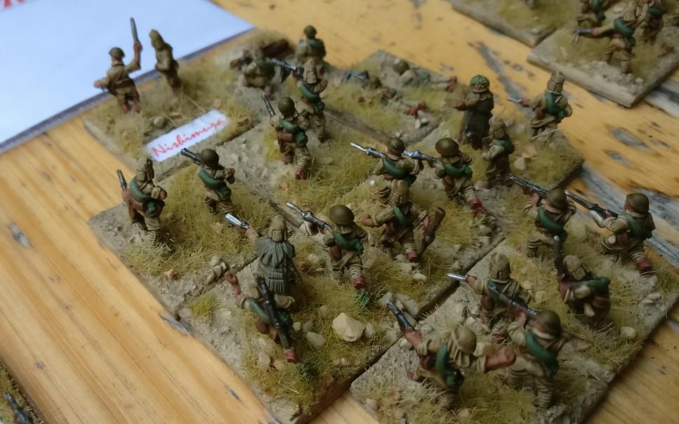 Der 3. Infanteriezug der kaiserlichen Kompanie auf Wake Island