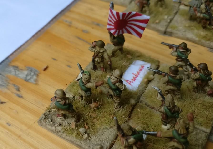 Kompaniechef Asakawa der kaiserlichen Kompanie auf Wake Island