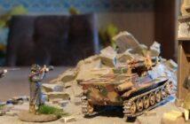 "Shell Hole Scenics Miniatures: Sd.Kfz. 301 8,8cm Raketenpanzerbüchse 54/1 auf Borgward IV C ""Wanze"""
