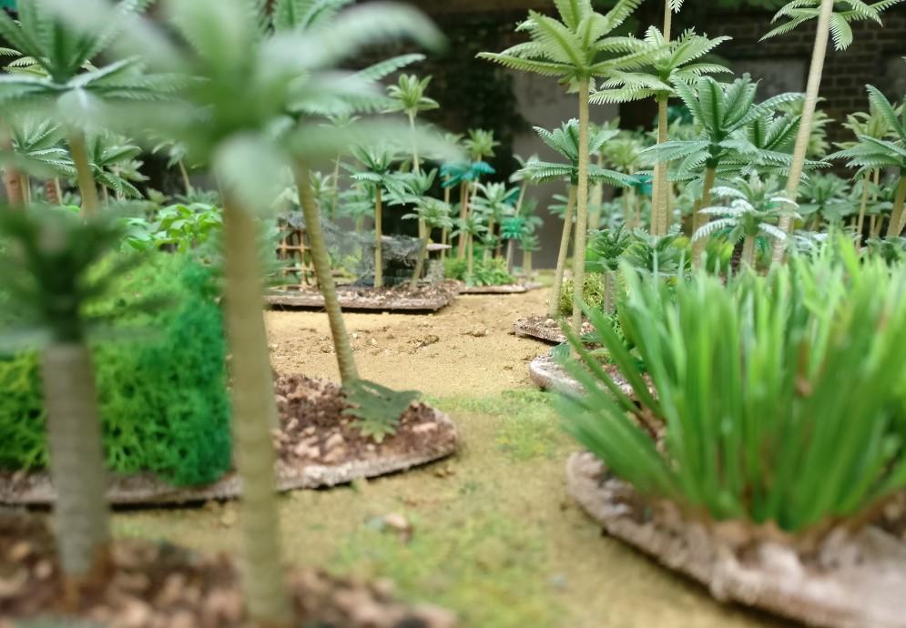 """Wake Island im Pazifik: ein Rundgang über die """"Poor Bloody Infantry""""-Spielplatte / Gaming Board"""