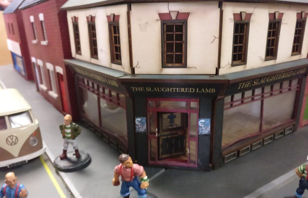 """Spieltisch """"Aggro"""" Skirmish auf der Tabe-Topia des Asgard in Aschaffenburg"""