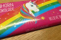 Einhorn-Schokolade: wenn die Zeit gekommen ist...
