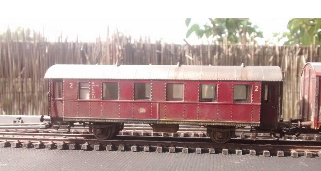 Die Rote Donnerbüchse 1. Klasse.