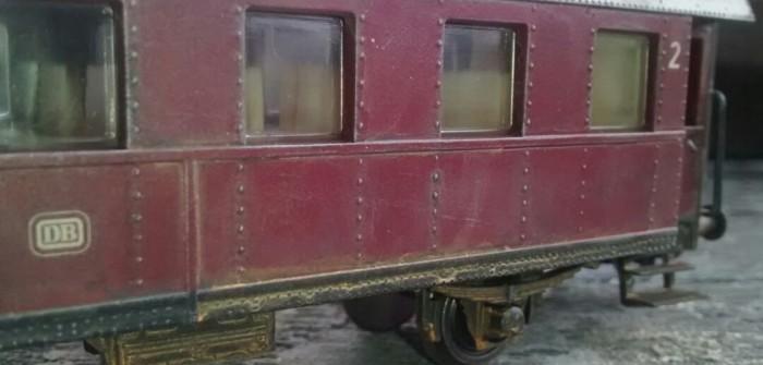 Modellbahn: Alterung von Güterwägen & Co.