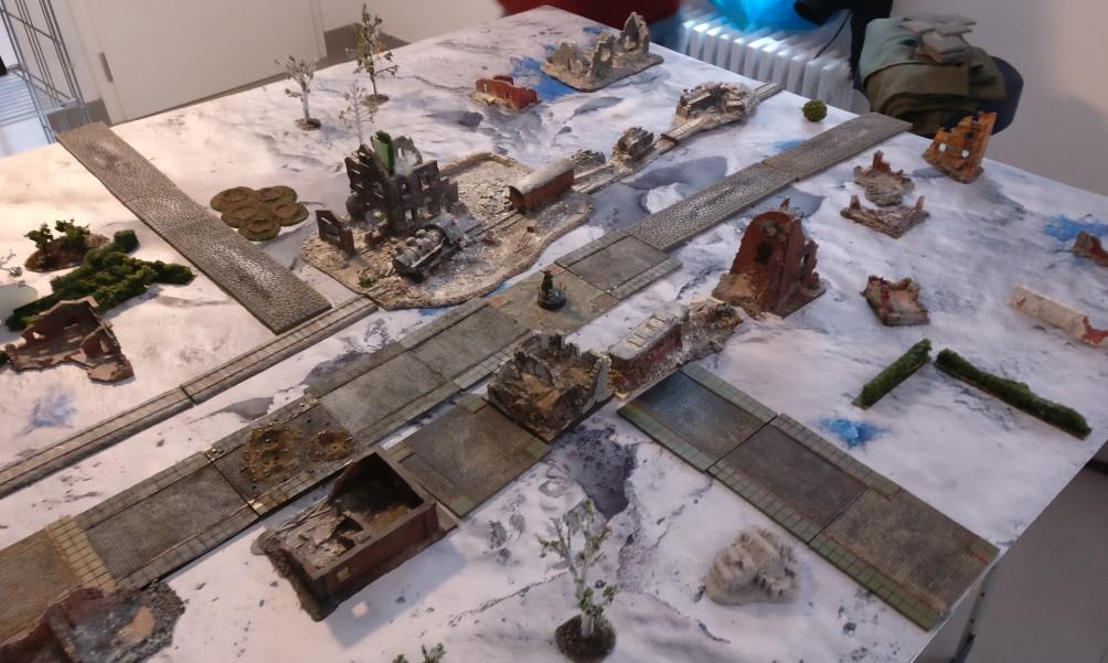 Ariovists Spieltisch