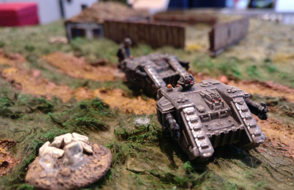 Zwei schwere Sd.Kfz. 309 Ausf. A
