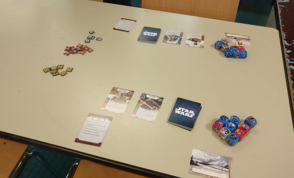 Spieltisch Star Wars Destiny auf der Table Topia in Aschaffenburg
