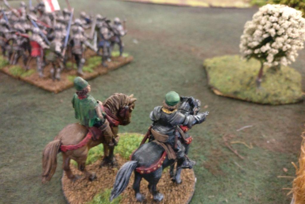 """Spieltisch """"Swordpoint"""" von Gripping Beast auf der Table-Topia vom Asgard eV in Aschaffenburg."""