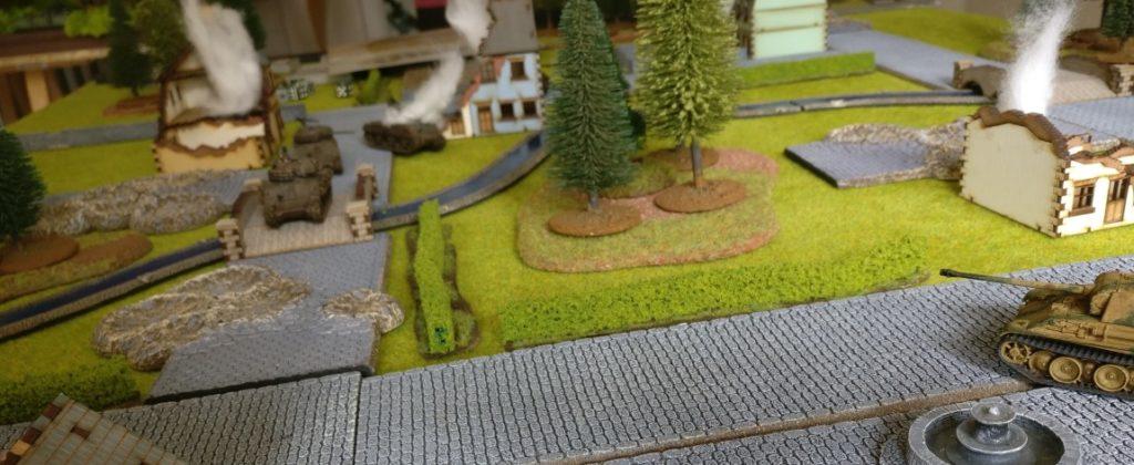 """""""Tanks""""-Spieltisch auf der Table-Topia von Asgard e.V. in Aschaffenburg"""
