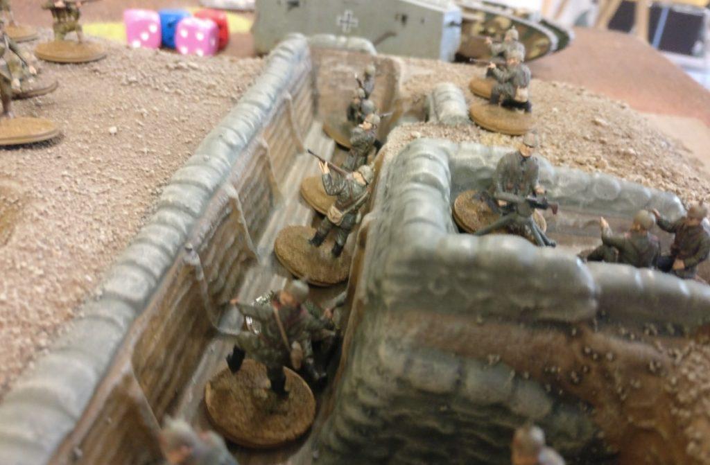 """""""World-War-I"""" Spieltisch auf der Table-Topia in Aschaffenburg"""