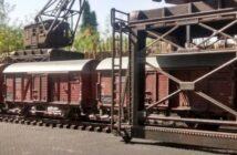 Gilroys Hafen: die Hafenbahn wird es wohl werden...