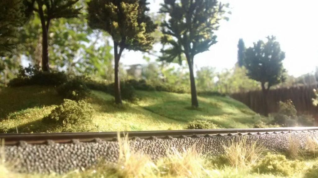 """Hier ein Blick aus der Perspektive der Grenadiere, die die Modellbahn """"H0""""  auch das eine oder andere Mal durchmessen werden,"""