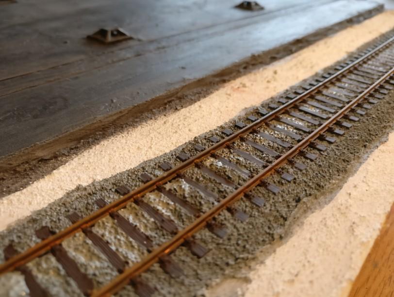 Eigentlich sind es nur 100cm Gleis...