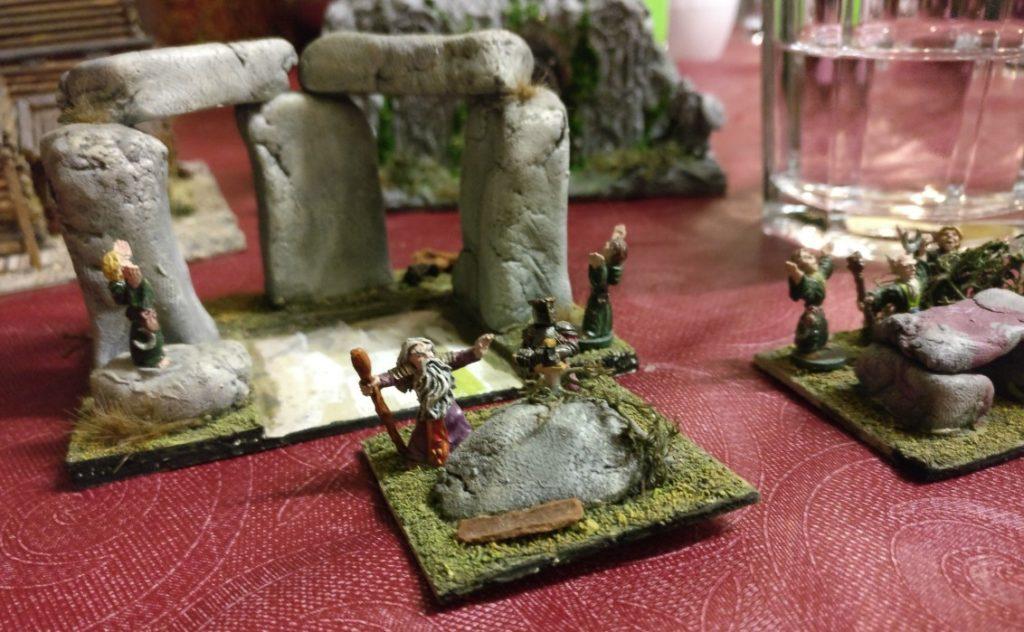 Auch der Fels mit Excalibur ist als Modul in den Steinkreis einpflanzbar.