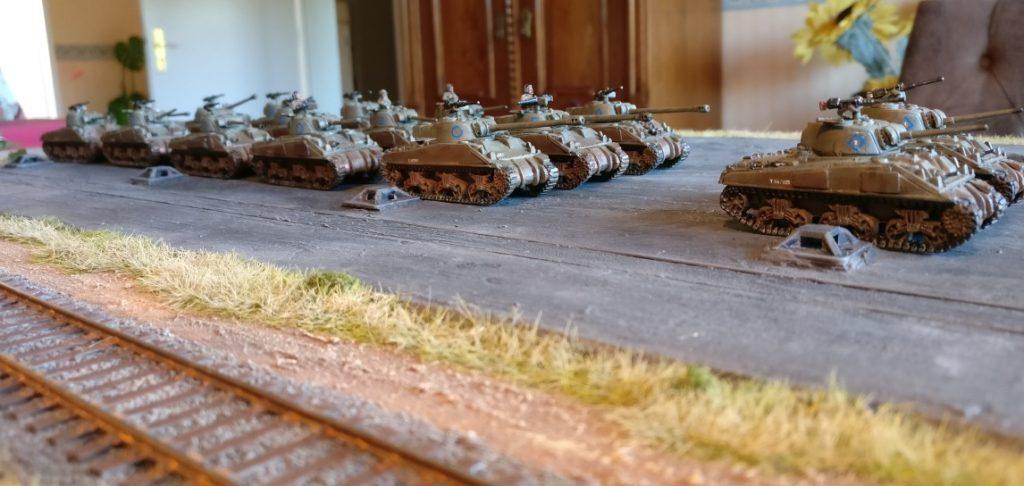 Immer noch das 1st Battalion Coldstream Guards