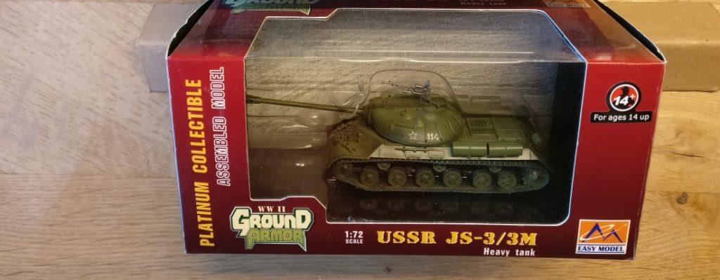 Easy Model (36244) UdSSR Heavy Tank JS-3/3M Odessa 1948, ein Zeitzeuge der Ära 'Kalter Krieg'