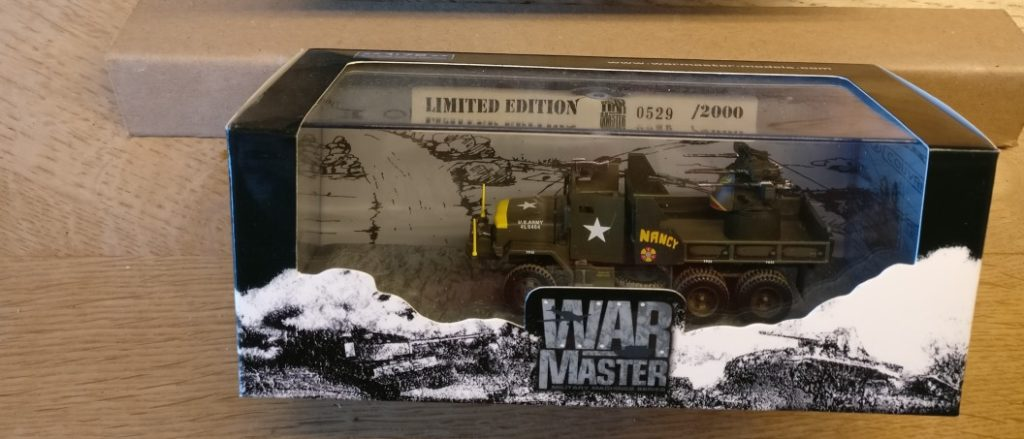 "War Master Military Machines TK0014 M35 2.5 Ton Truck Diecast Model US Army, ""Nancy"", Vietnam, 1968"