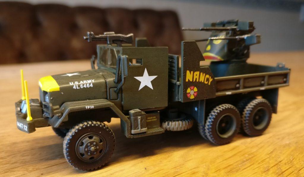 Der M36 Truck für Vietnam.