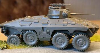 """Roco 266: Spähpanzer 2 """"Luchs"""" (1:87)"""