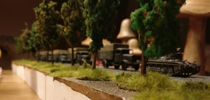 14. Panzerdivision auf der Straße nach Shturmigrad