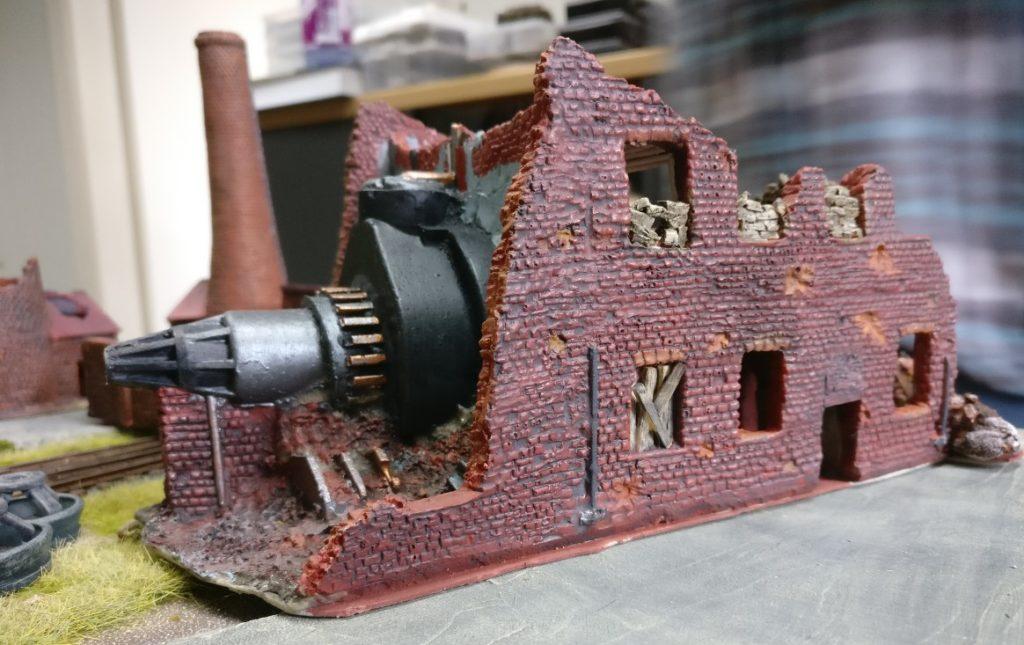 Ariovists Maschinenhaus zu Gast auf der Spielplatte Shturmigrad