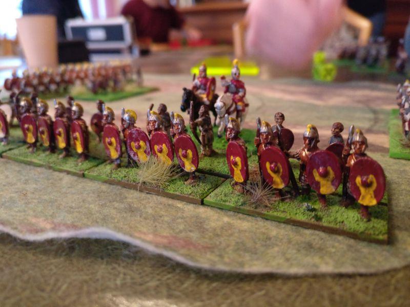 Seleukiden (früh wie spät) und mancherlei fremd klingendes Volk treibt sein Spiel bei DBMM / De Bellis Magistrorum Militum.