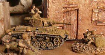 """""""Wie einfach wäre es doch dagegen, Tobruk zu nehmen!"""": Über das Bemalen von Figuren für PBI Poor Bloody Infantry von Peter Pig"""