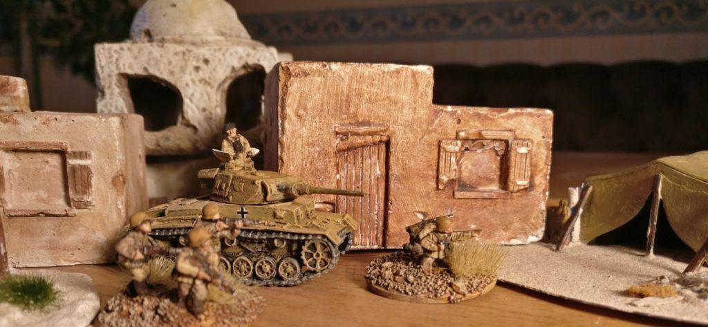 Der Panzer III Ausf. J des DAK Afrikakorps für meine 15mm-PBI-Armee / Poor Bloody Infantry