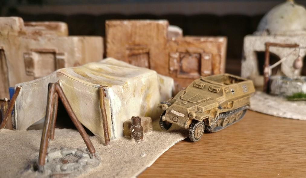 Das Sd.Kfz. 251/1 des DAK Afrikakorps für meine 15mm-PBI-Armee / Poor Bloody Infantry