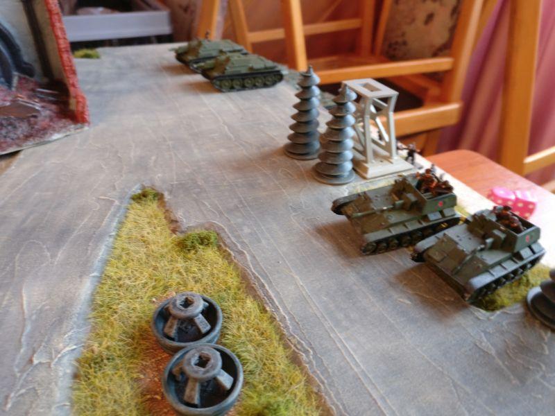 Die russischen Reserven kommen zum Einsatz.