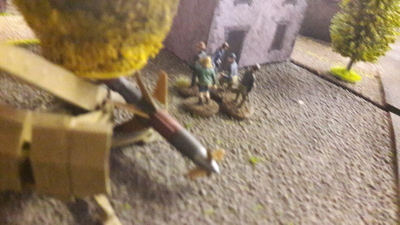 Hier der Resistance-Trupp, der eine Stellung der Rheintochter ausgeschaltet hat.