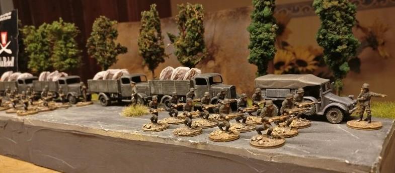 Die Reserven der Deutschen Seite sind begrenzt.
