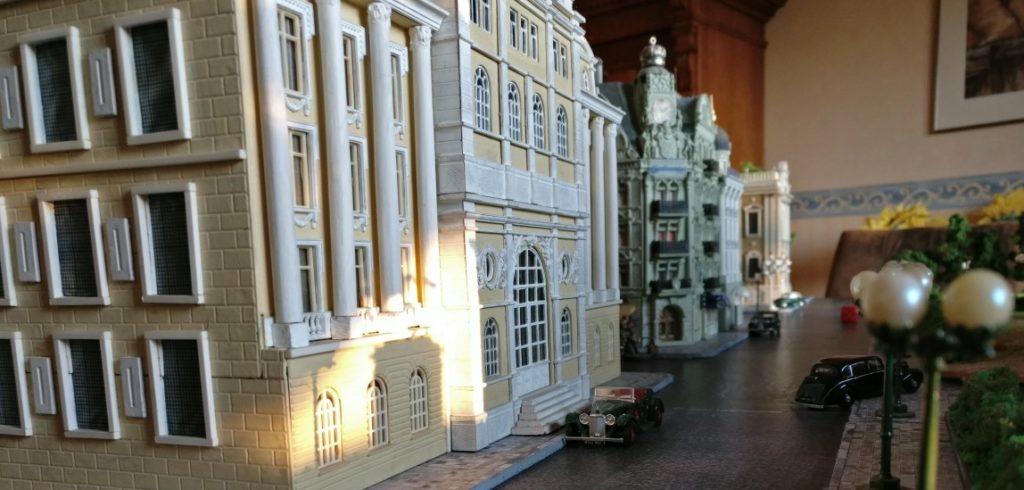 """Das Palais in der Prinzenstraße auf der Spielplatte """"Königsberg 1945"""""""