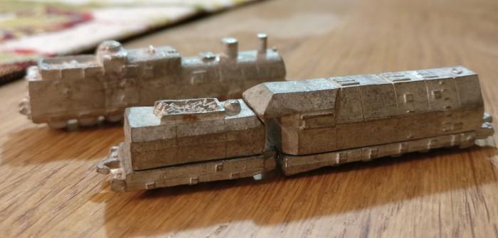 Heroics & Ros Armored Trains: Panzerzüge für Sturmis 6mm-Army