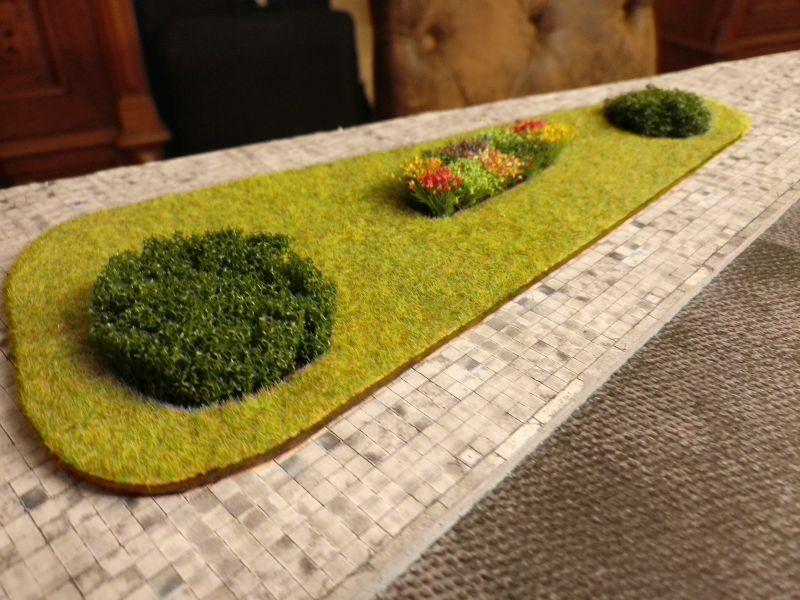 Grünflächen gibt es allerorten, wie hier.