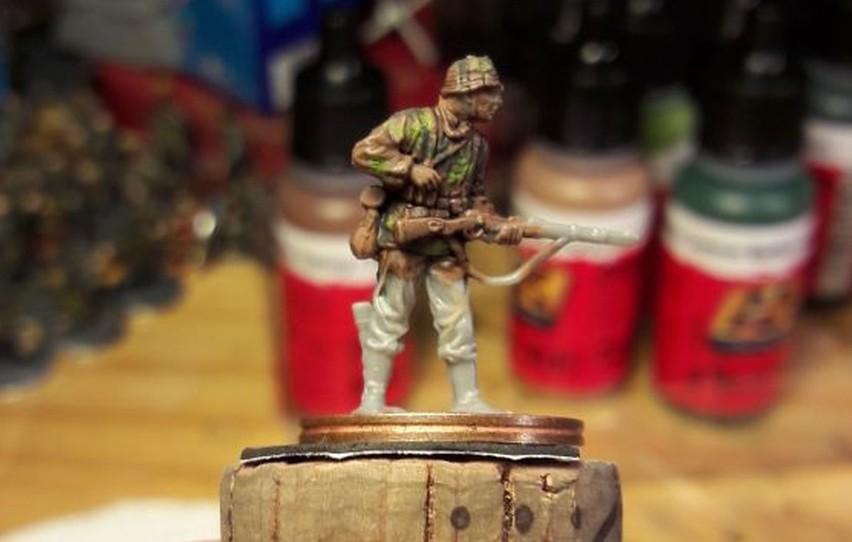 Der Panzergrenadier ist am Werden.