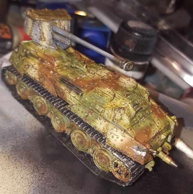Very special: Jarno hat in seiner Bitzbox das eine oder andere Teil gefunden, das sich hier auf ganz wunderbare Weise zum Kampfpanzer XII zusammengefügt hat.